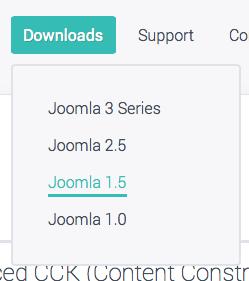 Joomla 1.5 extensions